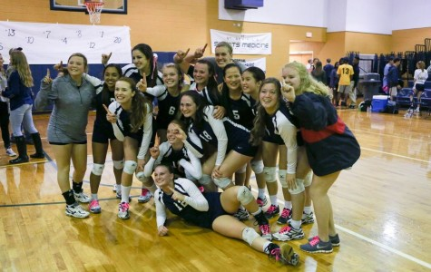 Saints Volleyball Advances to State with Thrilling Win Over St. Joe