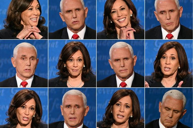 Who are Kamala Harris and Mike Pence?